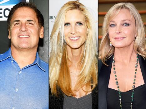 Mark Cuban, Ann Coulter, Bo Derek Join Sharknado 3 Cast