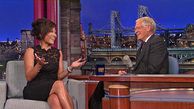 "David Letterman - Julie Chen on ""The Talk"""