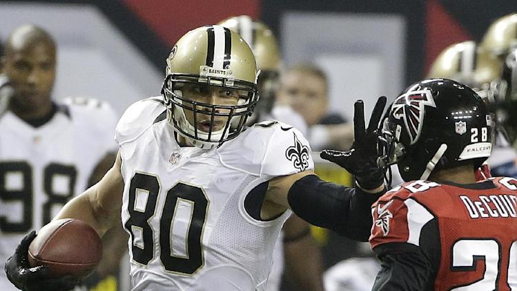 Jimmy Graham signs a record deal with New Orleans Saints
