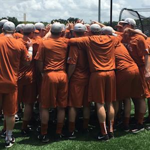 Texas Baseball Ready for Regionals