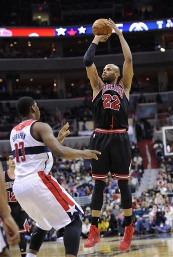 Okafor helps Wizards top Bulls 86-73