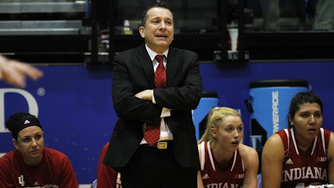 Indiana women's basketball coach resigns