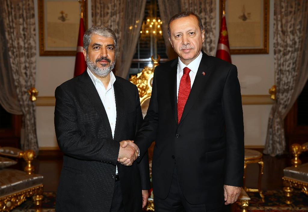 Erdogan meets Hamas leader amid reports of Israel deal