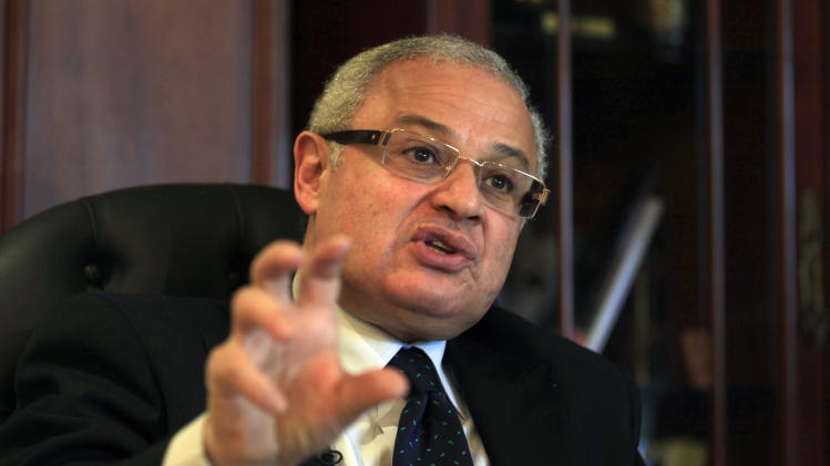 AP Interview: Egypt says Iranian pose no risk