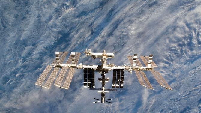 Russia is the only country still sending up its own craft to the International Space Station (pictured) after NASA ended its space shuttle programme in 2011
