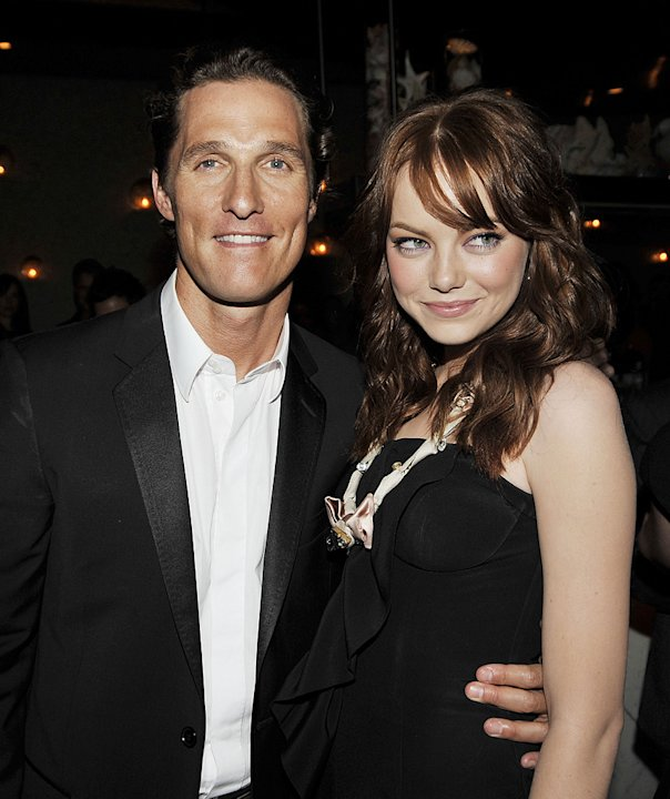 Ghosts of Girlfriends Past LA Premiere 2009 Matthew McConaughey Emma Stone