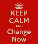 """Traditional Business"" Gets You HMV'd image keep calm and change now 257x3004"