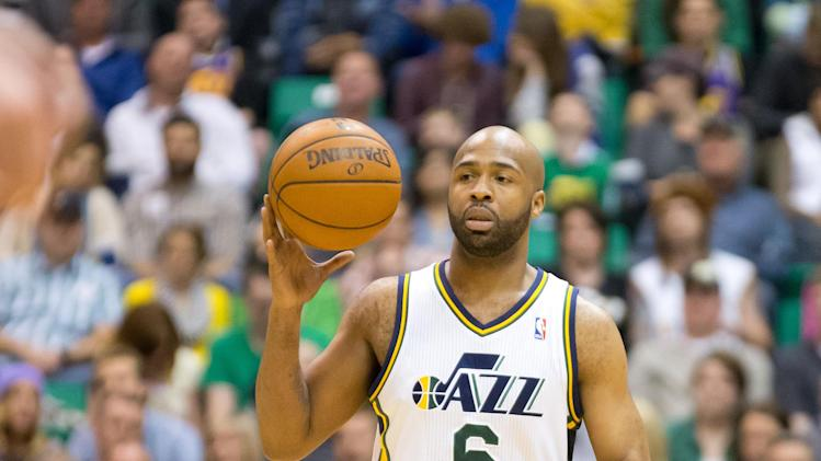 NBA: Portland Trail Blazers at Utah Jazz