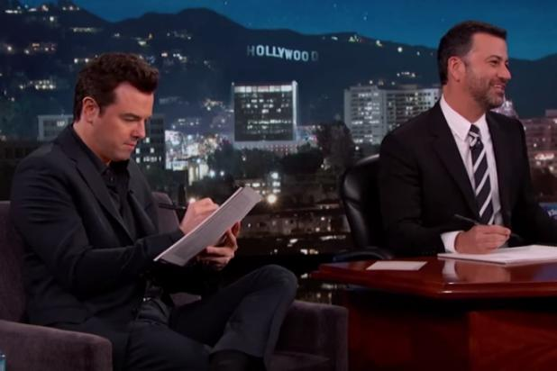 Jimmy Kimmel and Seth MacFarlane Expertly Sketch ABC Audience Members (Video)