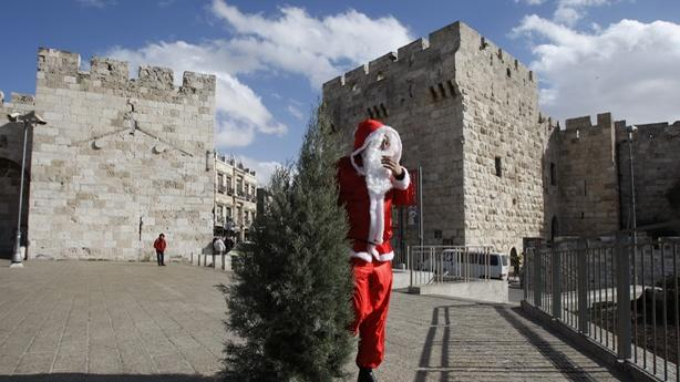Christmas Trees Are Still Banned in Nazareth Illit