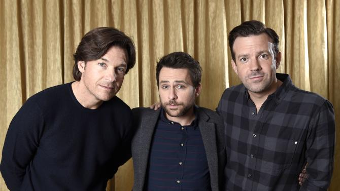 "File photo of cast members Bateman, Day and Sudeikis of the film "" Horrible Bosses 2"" pose for a portrait during a photo call in Beverly Hills"