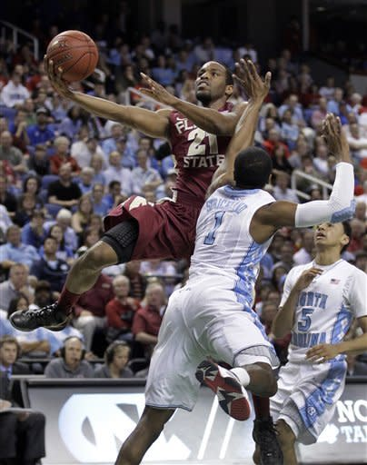 North Carolina tops Florida State 83-62 in ACCs
