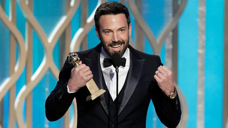 Golden Globes big winners include 'Argo,' 'Les Miserables'