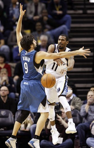 Prince scores 18 as Grizzlies beat Wolves 105-88