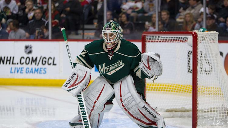 NHL: Chicago Blackhawks at Minnesota Wild