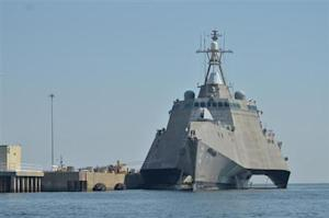 US Navy handout photo of the littoral combat ship USS Independence