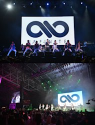 INFINITE performs in '2012 Summer Sonic'
