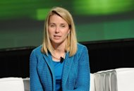 Yahoo! chief Marissa Mayer, pictured in 2011, will be paid one million dollars a year and be eligible for many times that amount in stock and bonuses if she hangs on to the post, the company revealed on Thursday