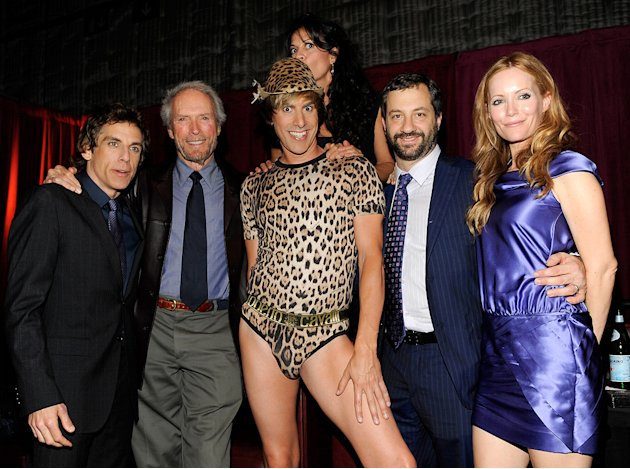 Spike TV Guys Choice Awards 2009 Ben Stiller Clint Eastwood Sacha Baron Cohen Judd Apatow Leslie Mann