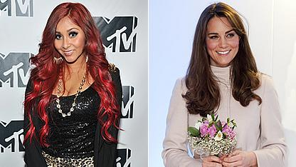 Snooki Offers Kate Middleton Pregnancy Advice