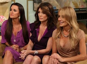 """The Real Housewives of Beverly Hills"" stars Kyle Richards, Lisa Vanderpump and Taylor Armstrong stop by Access Hollywood Live on July 27, 2011  -- Access Hollywood"
