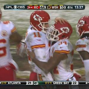 Kansas City Chiefs rookie running Knile Davis 17-yard touchdown run