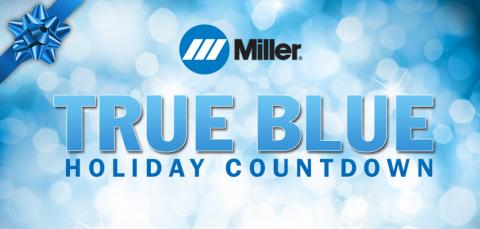 True Blue Holiday Countdown Features Special Offers in the Miller Online Store