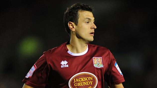 Northampton Town's Alex Nicholls (PA Photos)