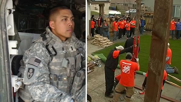 Volunteers step up to help disabled East Bay veteran