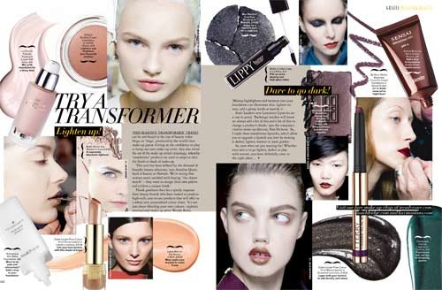 We Trial The 'Tranformer Beauty Trend From This Week's New Issue