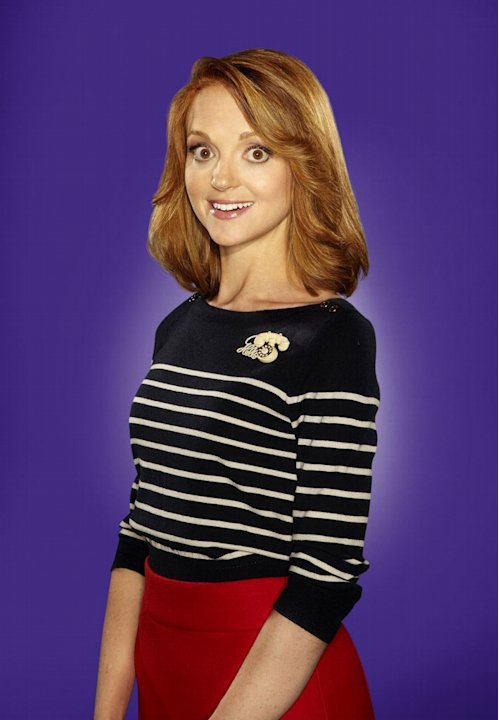 "Jayma Mays returns as Emma Pilsbury in season 2 of ""Glee."""