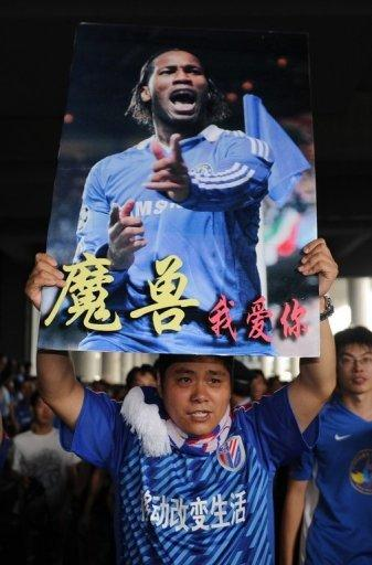 Didier Drogba will play his first game next week when Shenhua play Changchun in the Chinese FA Cup, local press reports