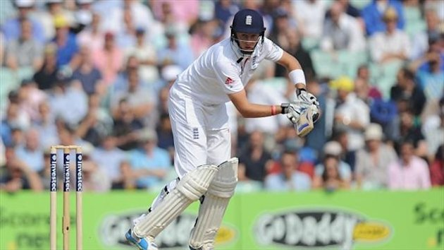 Joe Root top scored for England on day three with 68