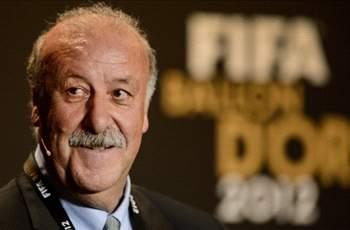 Del Bosque: Messi is the best, full stop