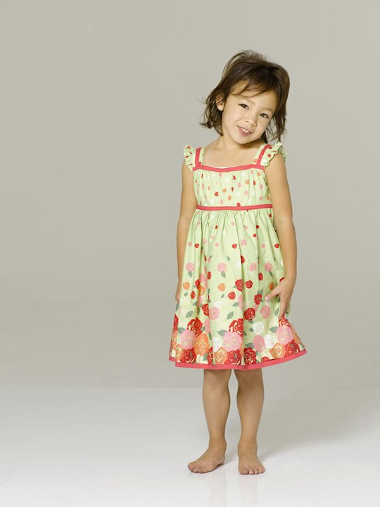 Aubrey Anderson-Emmons stars as Lily in &quot;Modern Family.&quot; 