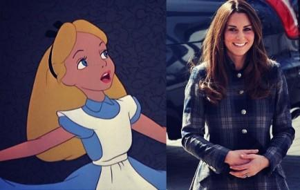 Alice and Kate Middleton