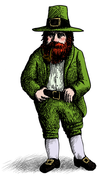 Leprechauns Diminished in Importance When Catholicism Came to Ireland