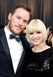Chris Pratt and Anna Faris | Photo Credits: Ethan Miller/Getty Images