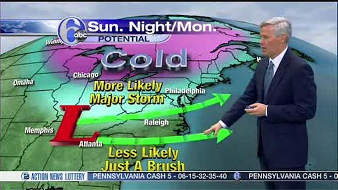 Accuweather: Temps Tumble, Snow Likely Sunday Night