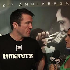 UFC 167: Chael and Rashad at Open Workouts