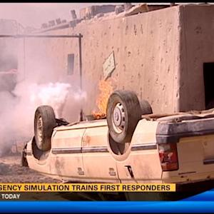 Emergency simulation trains first responders