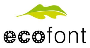 eco font printer ink