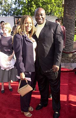 Michael Clarke Duncan and gal at the Universal city premiere of Universal's The Mummy Returns