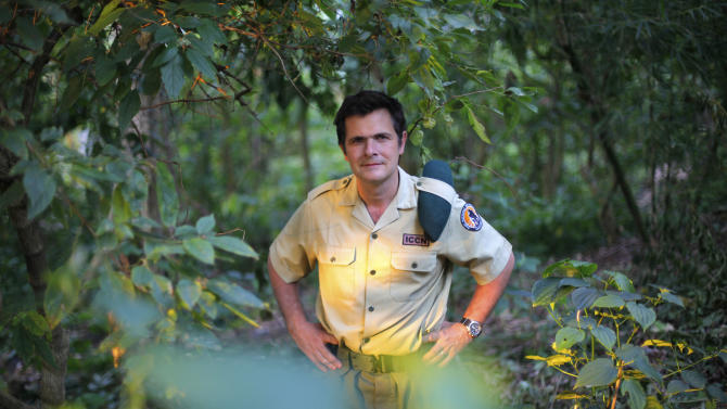 Emmanuel de Merode, Virunga National Park director and chief warden