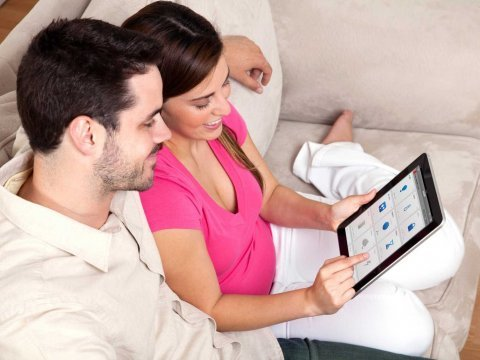 Zonoff user couple w iPad UI