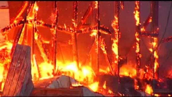 78 cows killed in Berks County barn blaze