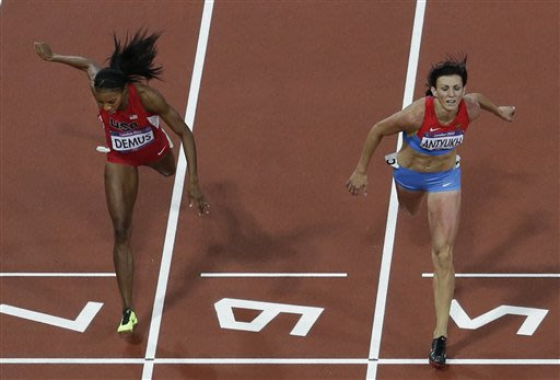 Russian Antyukh wins Olympic gold in 400 hurdles