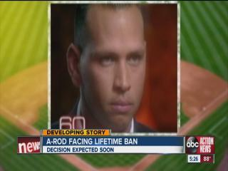 Waiting for final decision in A-Rod doping scandal