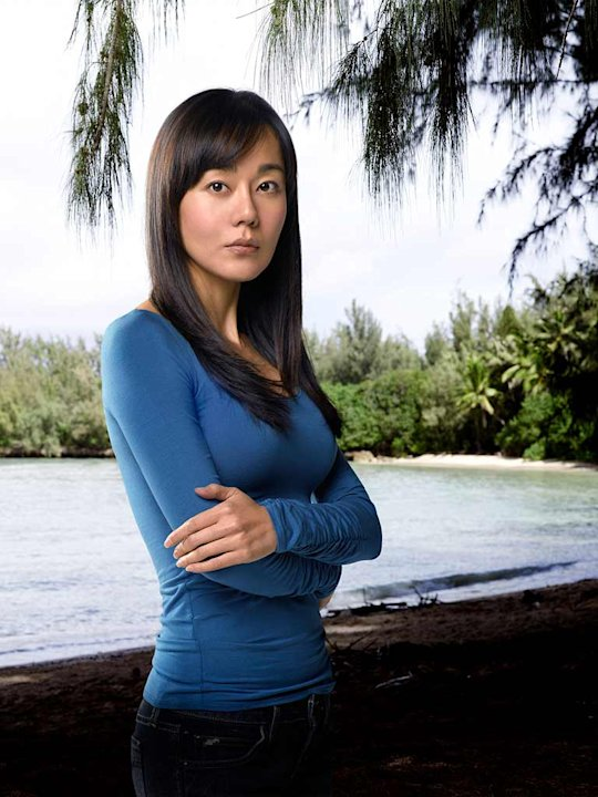 Yunjin Kim stars as Sun in Lost.