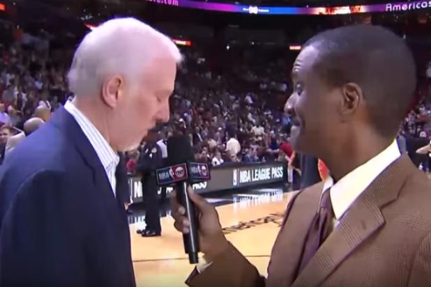 NBA Coach Gregg Popovich Sports Priceless In-Game Reaction to New Hampshire Results (Video)